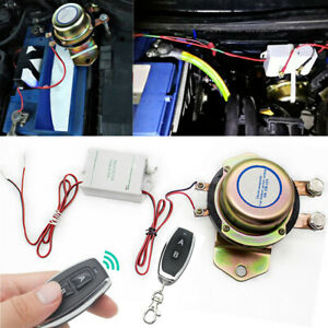 100A Battery Isolator Switch Disconnect Power Cut Off Kill for 12V Car RV Truck