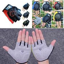 Bike Motorcycl Gloves Antiskid Mountain Gel Half Finger Gloves X-mas DQCA