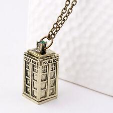 Copper Dr Who Replica Tartis 3D Replica Necklace