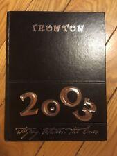 2003 Ironton High School Yearbook - The Owl - Ironton, OH -