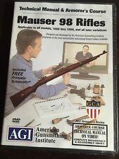AGI Mauser 98 Rifles DVD