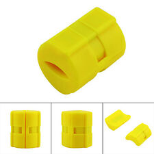 2pcs Universal Magnetic Gas Fuel Saver for Auto Vehicle Reduce Emission Yellow