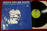 STEVE MILLER BAND RECALL THE BEGINNING 1972 CAPITOL VINYL LP EA-ST 11022 EX