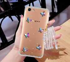 Luxury Bling Diamond Crystal Glitter Rhinestone Clear TPU Case Cover For Phones