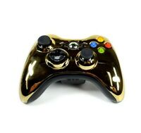 Xbox 360 Wireless Controller Special Edition Chrome Gold Tested