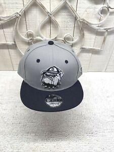 "Georgetown Hoyas ""BULLDOG""  New Era 9fifty Snapback Ballcap NWT Jack Embroidered"