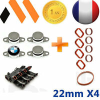 4 BOUCHONS CLAPET D'ADMISSION  22 MM BMW++ JOINTS  E46 E90 E91 E92 E60  X3 X5
