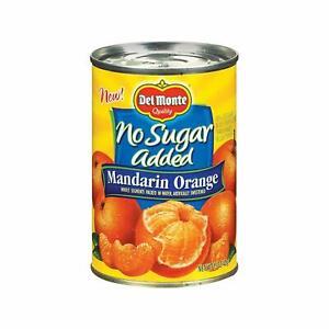 Del Monte no sugar added mandarin oranges 15oz