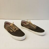 Vans Ultracush 721454 Brown Suede Leather Skateboard Shoes Mens US 8.5 Womens 10