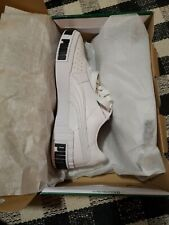 Women's Puma Cali Bold Shoes White Black Size 7.5 NEW Retails $100