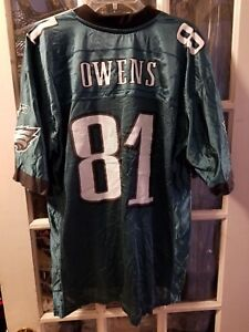 Terrell Owens Philadelphia Eagles Jersey Adult L Chattanooga Mocs UTC Moccasins