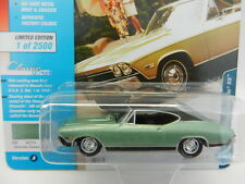 2018 Johnny Lightning *CLASSIC GOLD 1A* GREEN 1968 Chevrolet Chevelle SS NIP