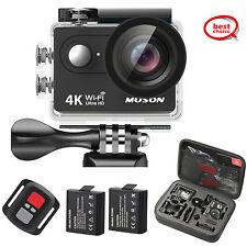 4K Action Camera, HD 1080P Sports DV WiFi Digital Video Camcorder Waterproof