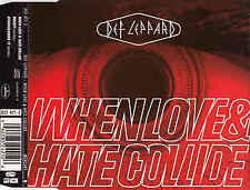 Def Leppard - When Love & Hate Collide (1995 CD Single 80s 90s Rock)
