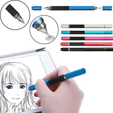 2in1 Precision Thin Capacitive Touch Screen Stylus Pen For iPhone iPad Phone Tab