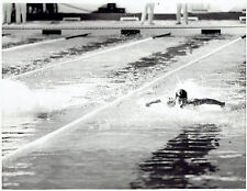 1967 Vintage Photo winning 100-meter butterfly at Pan American Games Mark Spitz