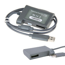 Hard Drive HD Transfer Data USB Cable Cord Lead for Microsoft Xbox 360 Console