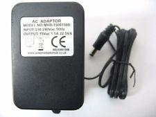 1.5A/1500MA 15 V 22.5VA AC/salida CA Adaptador de Alimentación/Suministro/Cargador/TRANSFORMADOR