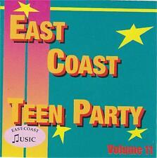 EAST COAST TEEN PARTY Volume 11 CD NEW 1950s rock 'n' roll rhythm & blues