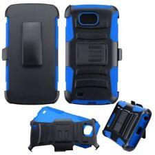 Blue Plain Mobile Phone Clips