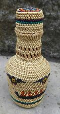 First Nations Northwest Coast Native Wrapped Bottle Aboriginal Indigenous