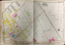 1906 G.W. Bromley, Boston, Roxbury, Ma, Vose Piano Factory, South Bay, Atlas Map