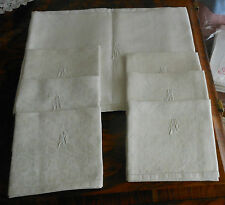 Tovaglia + 6 tovaglioli fiandra rose 142x142 61x58 (1) B16 Tablecloth napkins