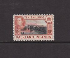 Falkland Is 1938 10s lightly hinged mint