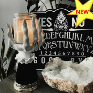 Halloween 2021 Witch Hand Candle Holder Single Wick Prop Statue Hot