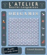 L'atelier origami - coffret - Gautier-Langereau 2013