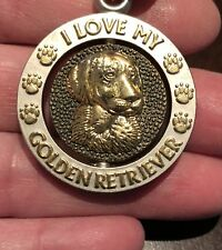 New Golden Retriever Keychain Key Chain Canine Dog K9  Puppy English England