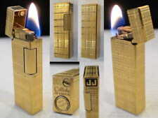 BRIQUET Ancien * COLIBRI John Sterling * Vintage gas LIGHTER Feuerzeug Accendino