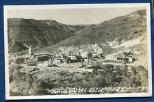 Death Valley California ca Scotty's Castle Air View real photo postcard RPPC