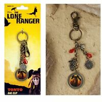 The Lone Ranger Tonto Bag Clip NEW Toys NECA Charm Johnny Depp Movie