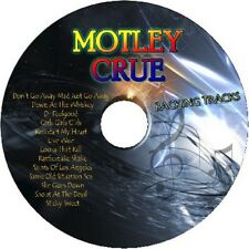 MOTLEY CRUE GUITAR BACKING TRACKS CD BEST GREATEST HITS MUSIC PLAY ALONG MP3