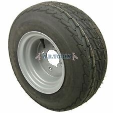 """Rueda y neumático para remolque de 20,5 x 8,0 a 10 4"""" PCD 4 ply"""