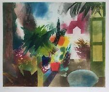 """Hatta Gollwitzer, """" Landschaft, """" , Original, Grafik, Radierung"""
