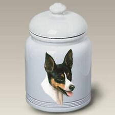 Rat Terrier Ceramic Treat Jar Lp 45130