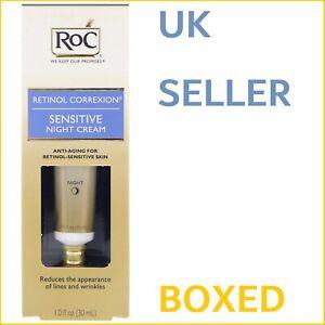 RoC Retinol Correxion Sensitive Night Cream Corrextion Anti Deep Wrinkle Serum