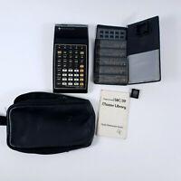 Texas Instruments TI-58C Programmable Calculator Master Library Module 1