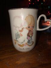 "Precious Moments Cup/Mug ""Sew in Love"" 1978"