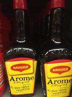 Lot  De 4 Grandes bouteilles De 810 Ml Maggi L'original Arôme DLC Longue