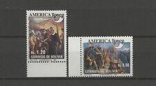Entdeckungsreisen - Bolivien, Bolivia - 1152-1153 ** MNH 1991