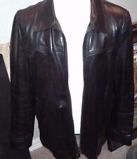 $3995 PRADA  Leather Jacket  HAND MADE IN ITALY US 46 EU 56