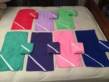 Microfiber Towel With Zipper Pouch Cell Phone Keys Id Etc Gym Golf Home 8 Colors
