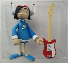 """Kidrobot x Gorillaz NOODLE 7"""" VINYL FIGURE Jamie Hewlett BLACK ED 2005 art toy"""