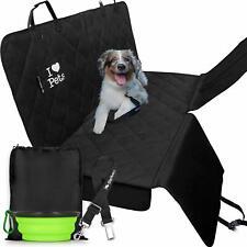 Housses de siège de voiture de luxe pour chien – Double couture et renforcées,