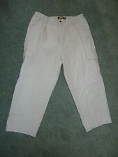 Cabela's 6 Pocket Hiker Cargo Tan Khaki Pants Size 12 Inseam 25