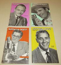 Nostalgia Digest - 2003 - 4 issues - Gene Autry Tremayne Crenna Robert Lewis