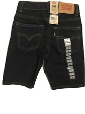 Levi's 511 Boys Slim Shorts Size 5 Adjustable Waistband NEW